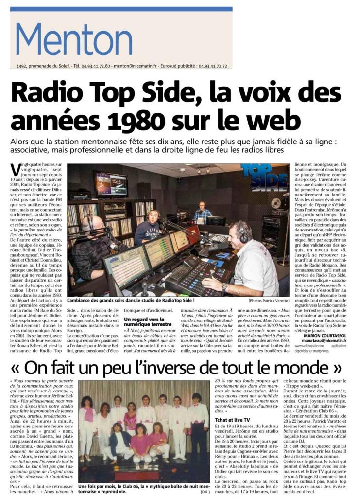 RADIO TOPSIDE